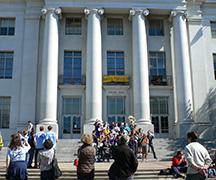 カリフォルニア大学バークレー校の様子